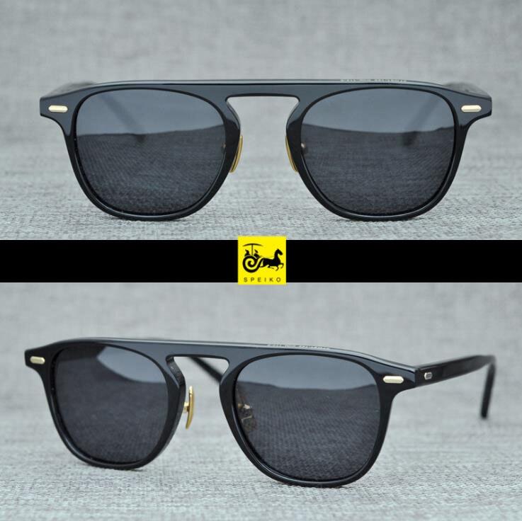 Speiko feito à mão miopia óculos de sol leitura re c1 retro estilo piloto colorido óculos uv400 arco-íris vintage