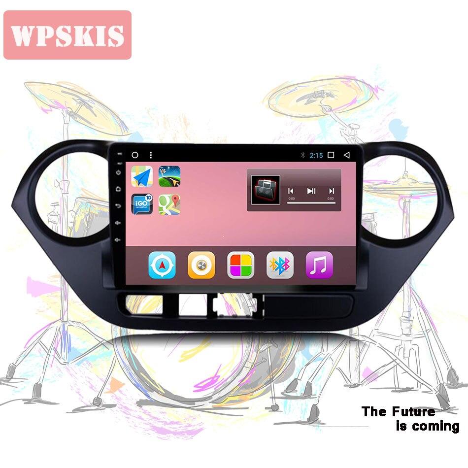 "2 din 9 ""android 10,0 GB 64GB reproductor de dvd de coche para hyundai grand i10 2013 -2015 - 2018 con radio gps navegador estéreo sistema de Audio"