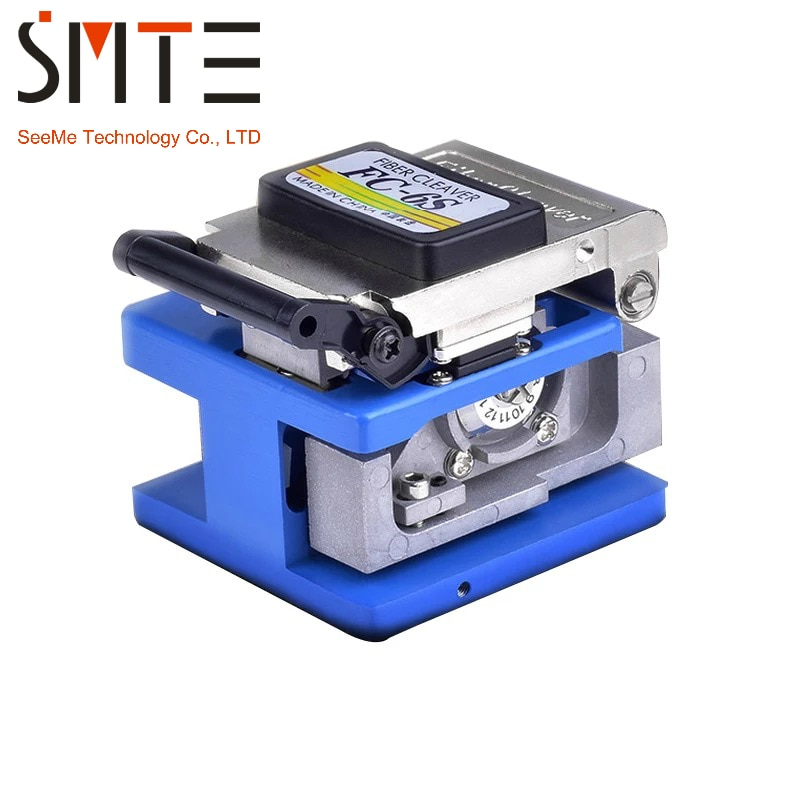 Волоконно-оптический Кливер FC-6S 250um-900um 12 позиционное лезвие для FTTX FTTH быстрый соединитель металлический материал Высокоточный алюминий