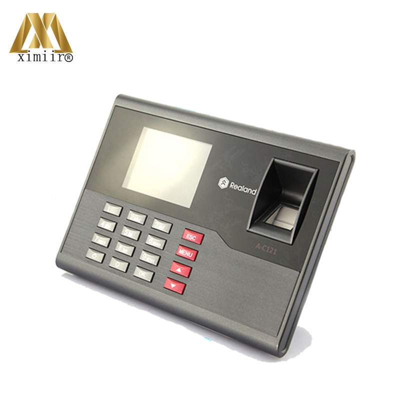 Good Quality USB Fingerprint + Password Biometric Time Attendance A-C120 RFID Card Employee Time Attendance