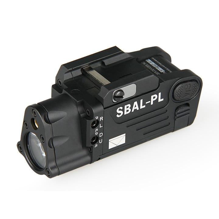 Tactical Laser Flashlight Hunting Light Combo Red Laser Pistol Constant & Strobe Light for Pictinny Rail GZ15-0080