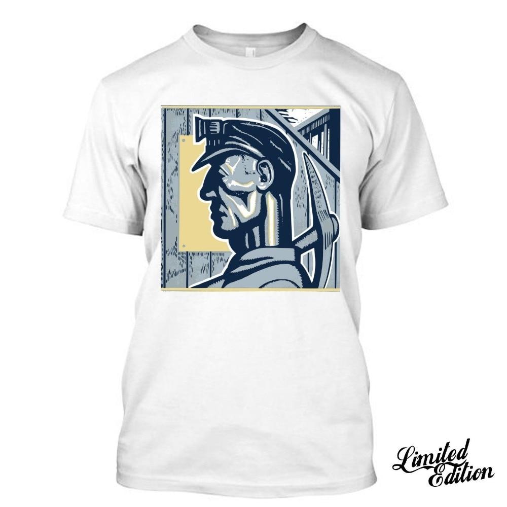 2019 Fashion Summer t-shirt Coal Miner I Love Husband Father Boyfriend T Shirt Tees Tee shirt