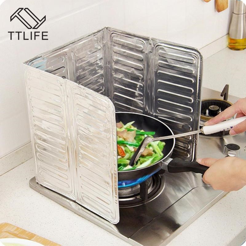 Cozinha frigideira óleo proteção contra respingo cobertura da tela fogão a gás anti splatter escudo guarda divisor de óleo à prova respingo defletor ferramentas