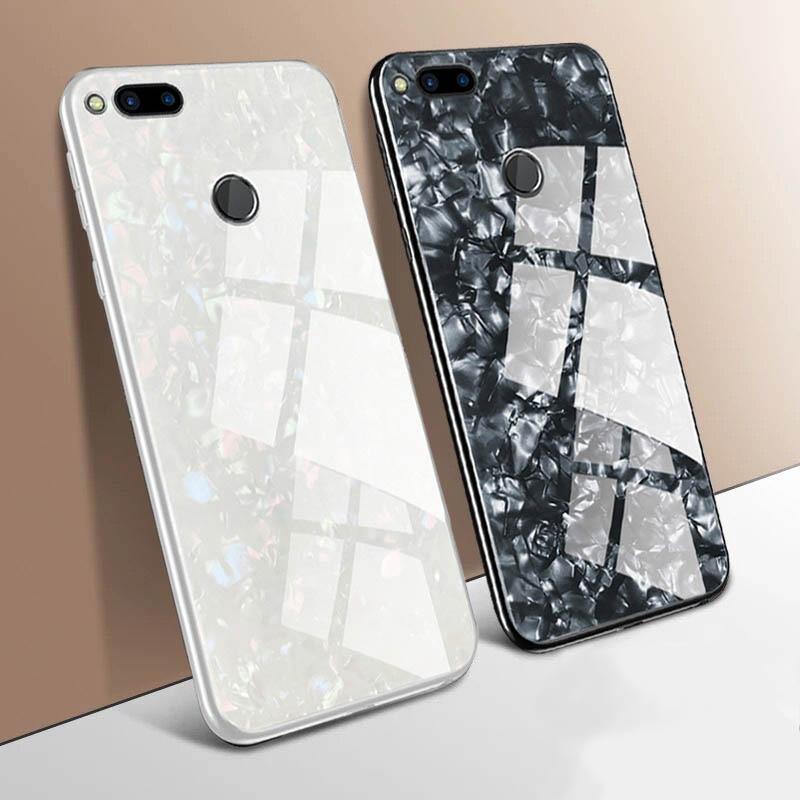 Funda para Huawei P40 P20 P30 Pro Lite Mate 20 30 Pro Honor 10 V10 patrón de grano de mármol duro de vidrio templado