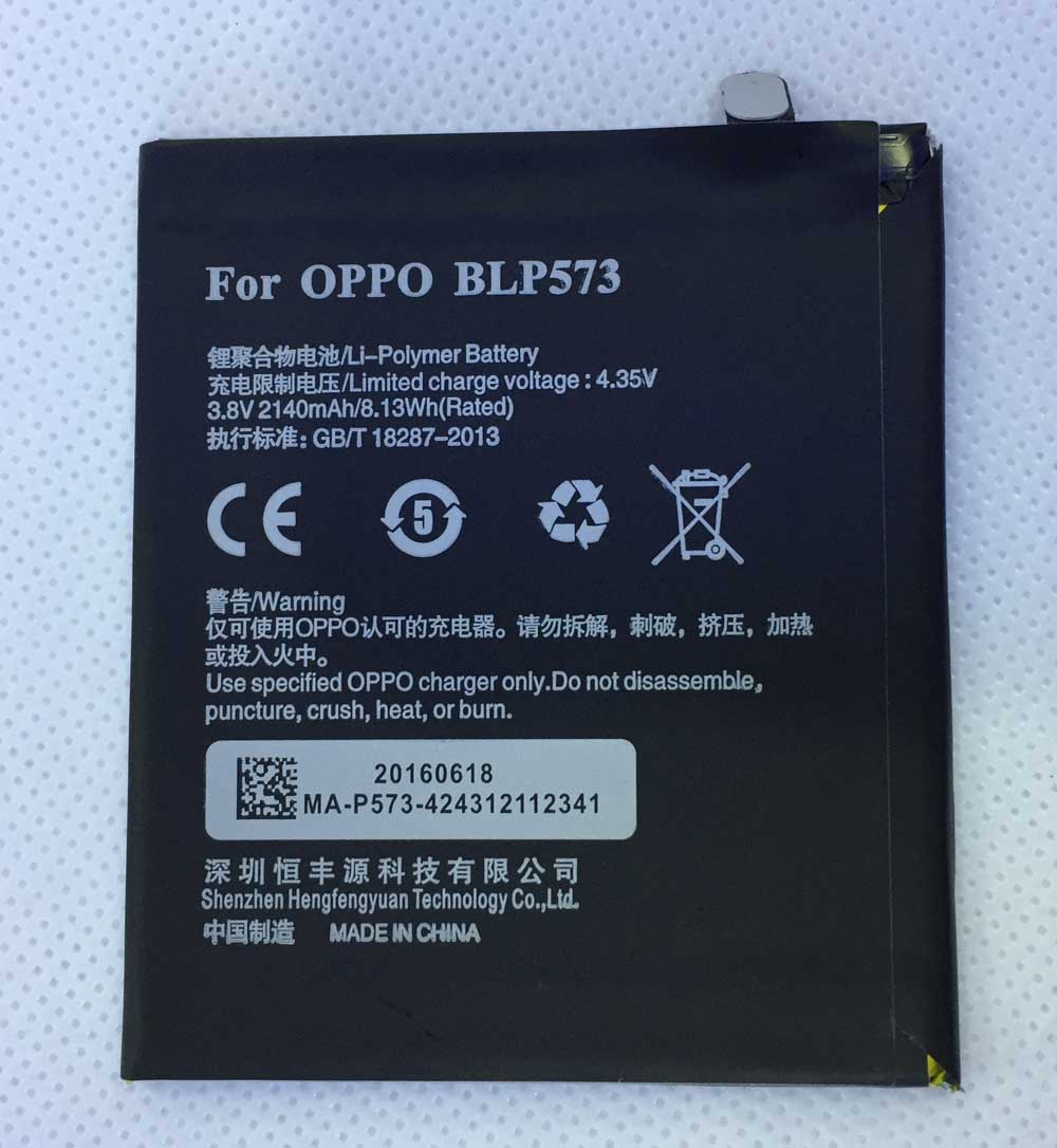 HFY батарея BLP573 батарея для OPPO N5117 R6007 N1 3,8 V 2140mAh BLP 573