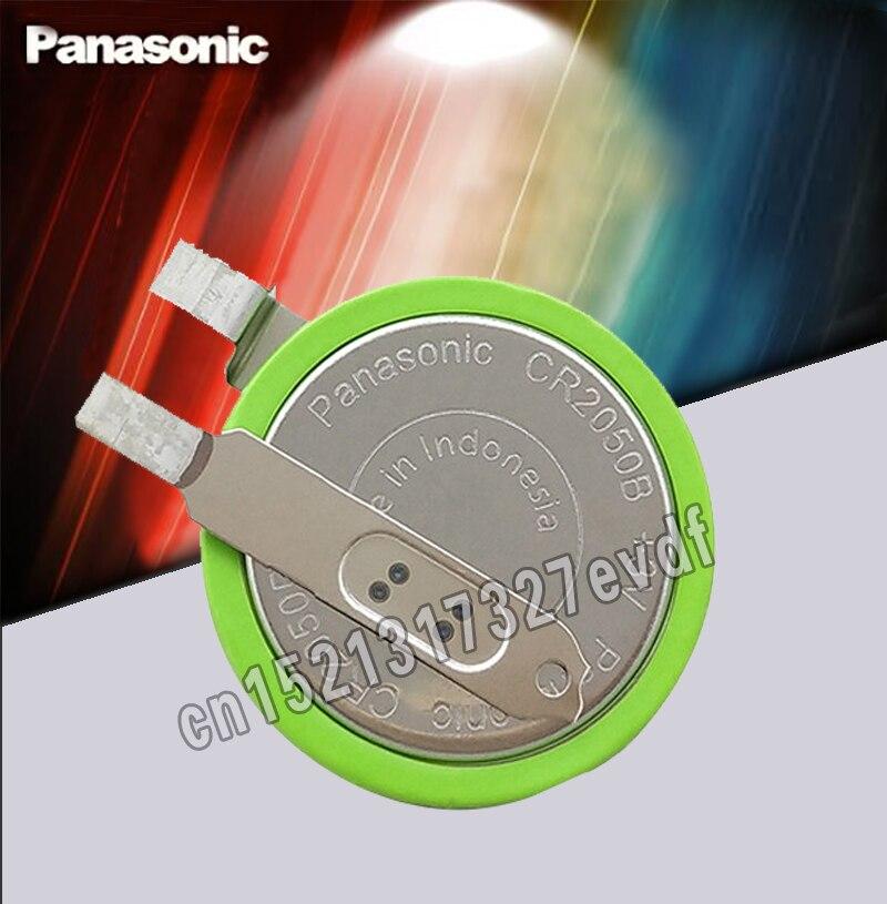 Original panasonic cr2050b cr2050 3v botão de alta temperatura li-ion mmanganês botão de monitoramento de pressão dos pneus do carro