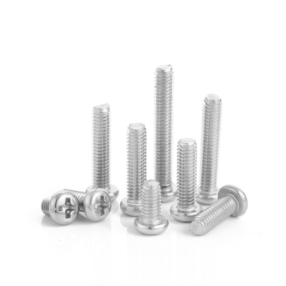Фото - 50 pieces M2 M2.5 M3 M4 M5 M6 ISO7045 DIN7985 GB818 Stainless Steel Cross Recessed Pan Head Screws Phillips Screws Bolts axk m1 6 m2 m2 5 m3 m4 m5 m6 din7985 gb818 304 stainless steel cross recessed pan head screw phillips tv computer bolts