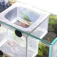 aquarium hatchery grow seedlings fish breeding incubator net hanging fish hatchery isolation box aquarium fish tank breeding