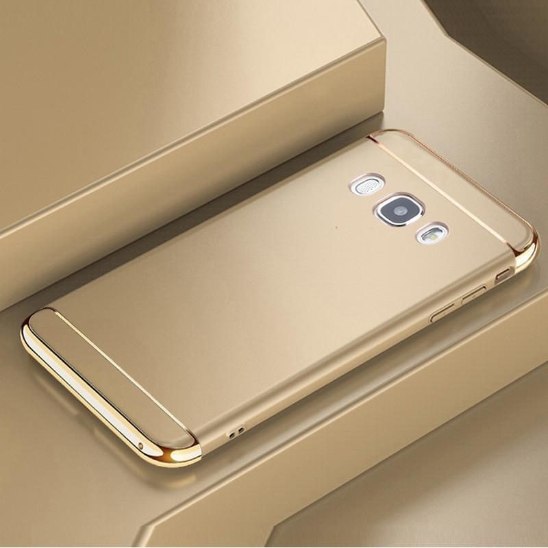 YonLinTan capinha,coque,case,cover for Samsung Galaxy j7 2016 j710 Luxury 360 on back phone Hard plastic 3d cute Original
