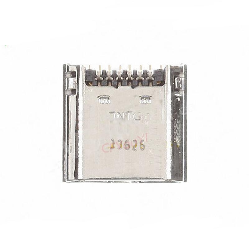 20 unids/lote Puerto Micro USB conector puerto de carga para Samsung GALAXY Tab 3 7,0 T210 enchufe