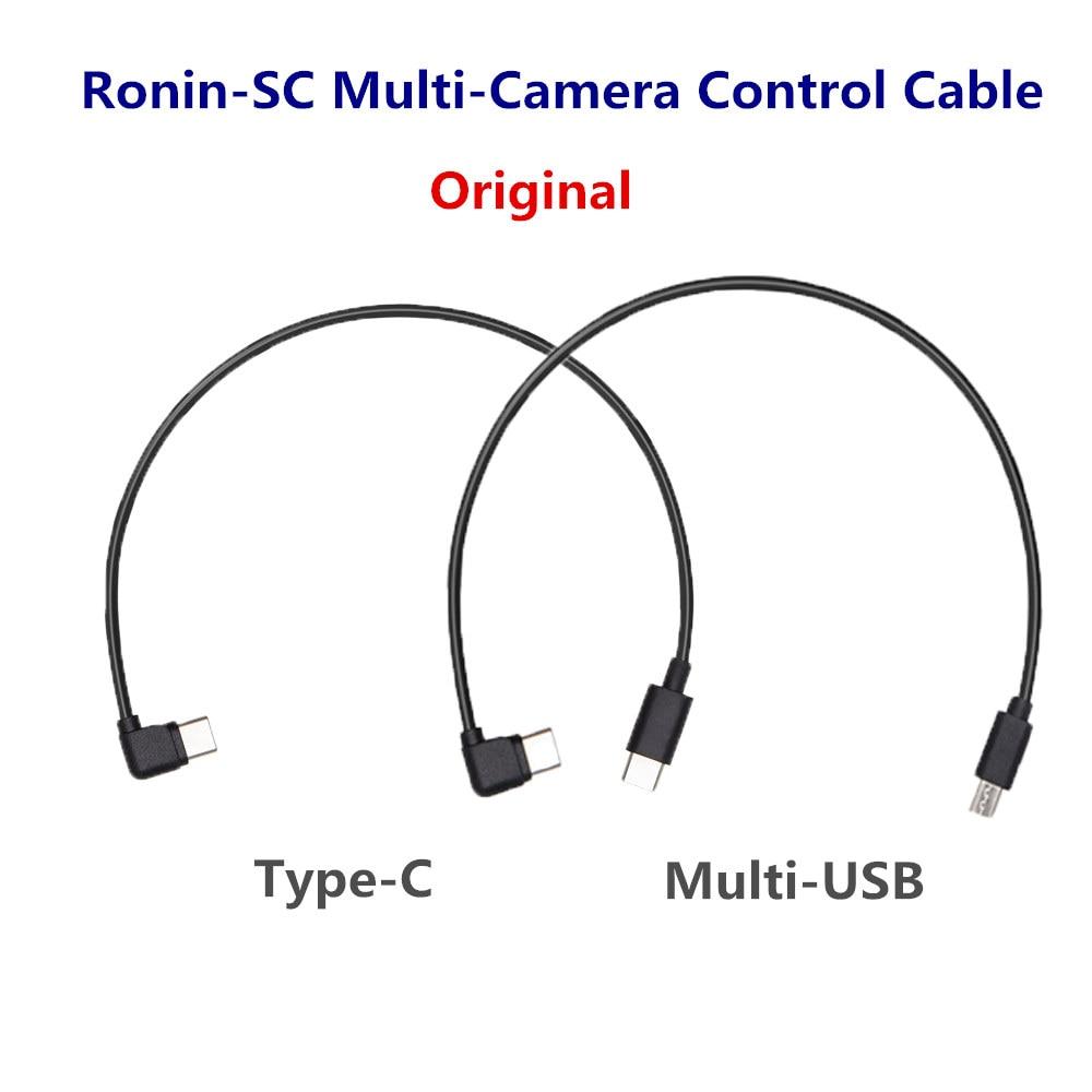 Para DJI Ronin SC Cámara Cable de Control (Multi/tipo-C) para conectar tu cámara Sony/Panasonic al puerto de Control de cámara Ronin-S