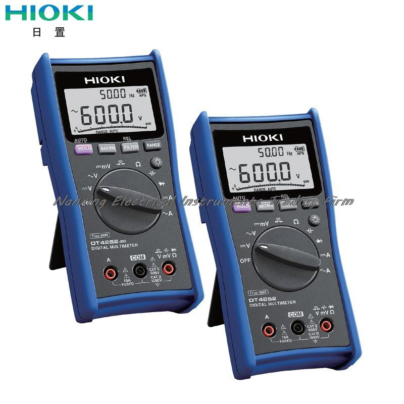 Chegada rápida hioki dt4252/DT4252-20 multímetro digital desempenho rápido de testes profissionais
