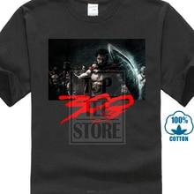 Impression t-shirt manches dété t-shirt vêtements nouveau 300 film Leonidas sparte empereur gardien hommes t-shirt