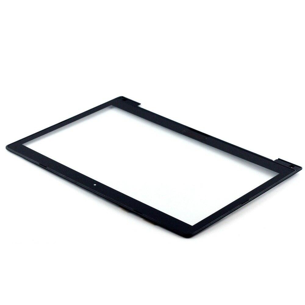 "Para Asus viviobook S400 S400C S400CA 14 ""LCD pantalla táctil de vidrio JA-DA5343RA digitalizador panel bisel cristal frontal con marco"