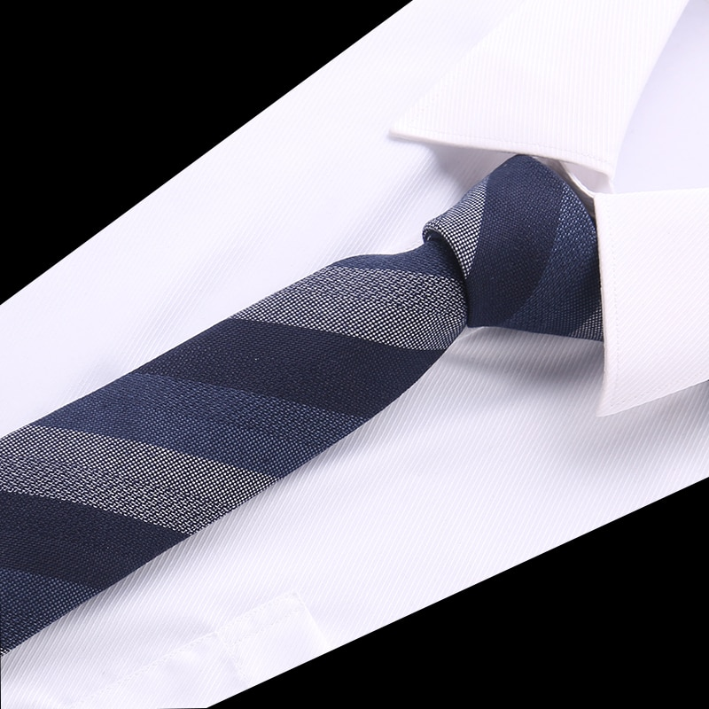 Новый Полосатый галстук для мужчин 145 см * 8 см галстук синий Пейсли хлопок, жаккард, тканый галстук для шеи костюм для свадебной вечеринки то...