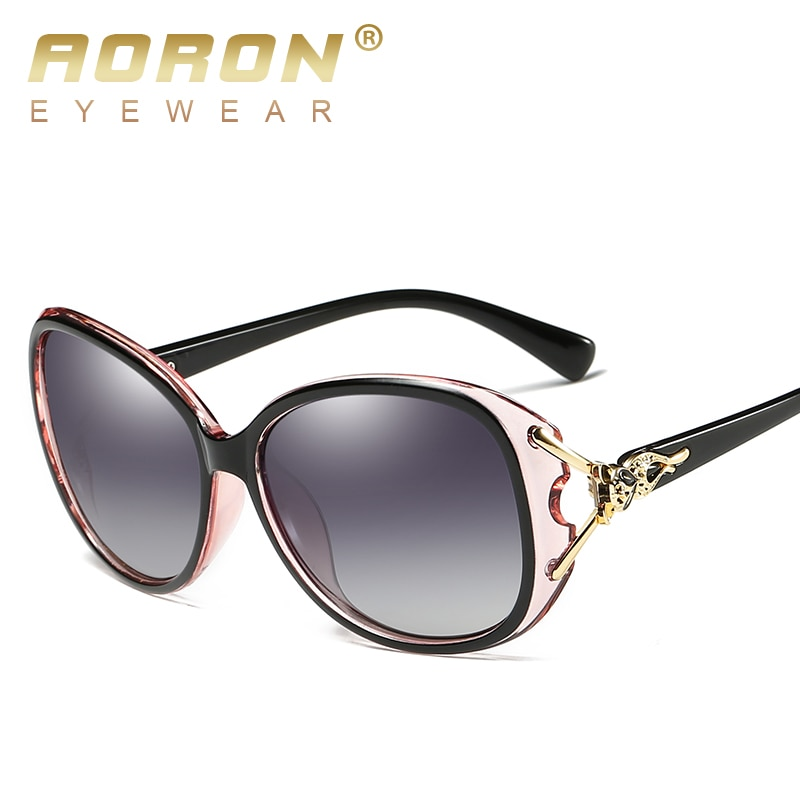 Aoron moda feminina óculos de sol polarizados estilo raposa sung lasses acessórios uv400