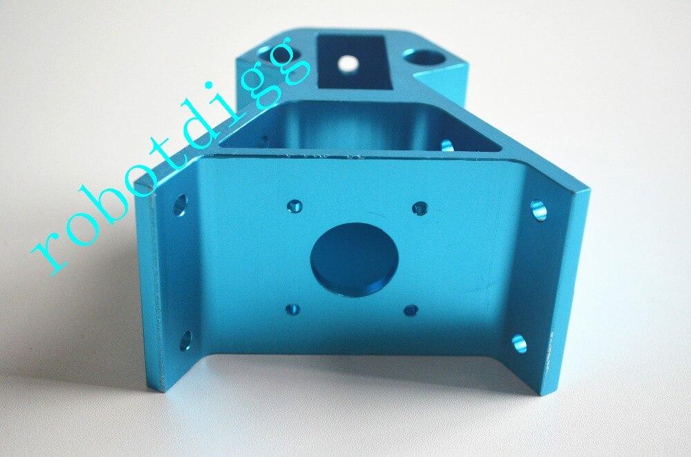 6 pçs azul alu vértice para kossel xxl/2040 canto de metal para kossel para nema 17-300/nema17 delat 2040 canto de metal