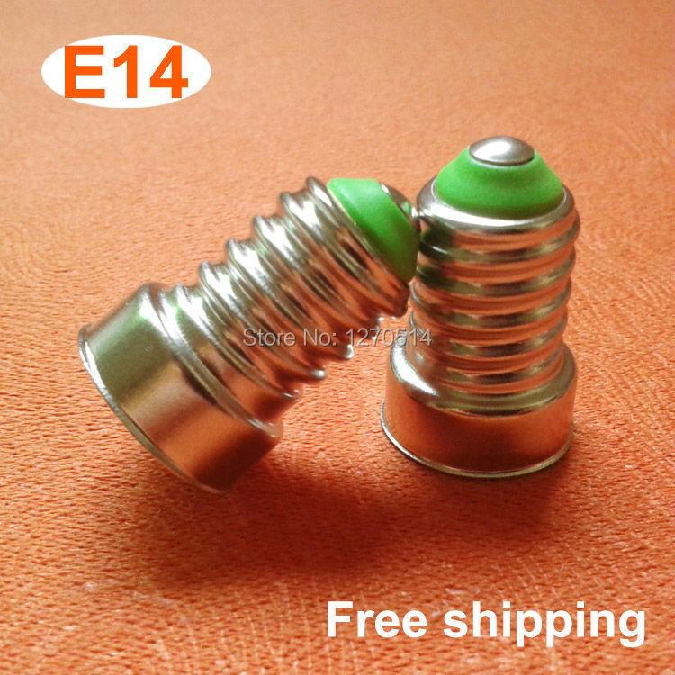 10piece/lot, DIY led parts e14 lamp base energy saving lamp accessories E14 lamp holder, Free shipping