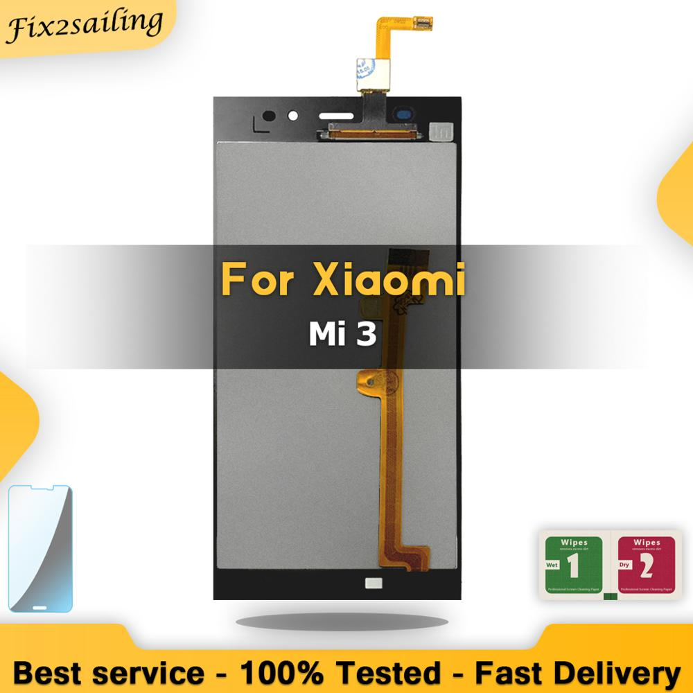 5.0 Display LCD Preto da Tela de Toque Para XIAOMI Mi3 M3 3 LCD Substituição Display LCD de Tela Para XIAOMI Mi
