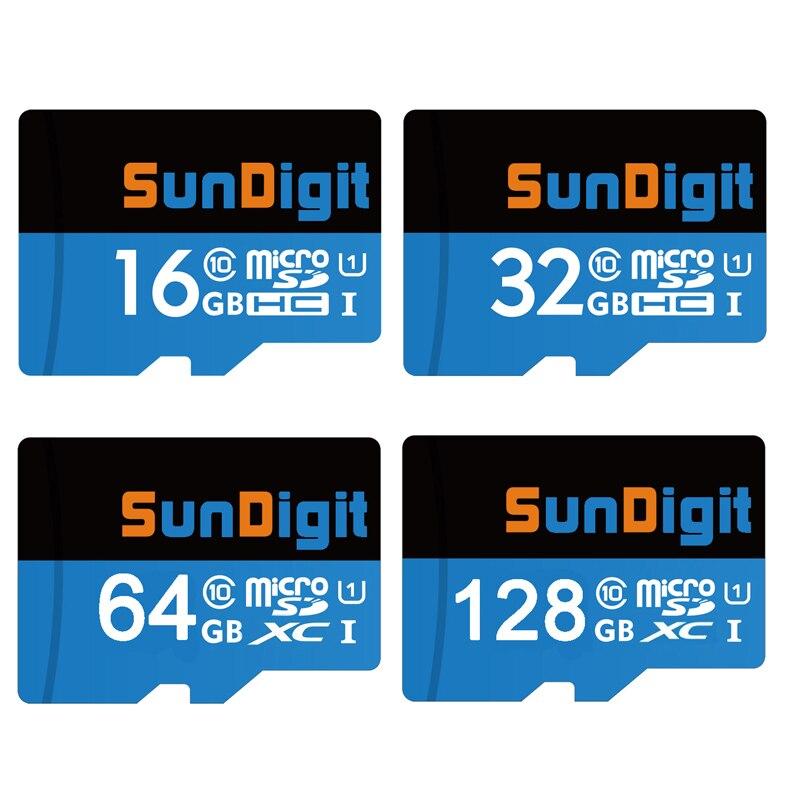 SunDigit tarjeta Micro SD de 32GB Clase 10 de 8GB 8G Class10 UHS-1 de memoria TF tarjeta Flash tarjeta de memoria Microsd para cámara de teléfono TF-tarjeta
