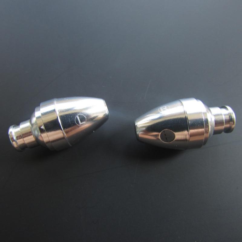 10 pares 10mm plata de baja frecuencia diy auricular shell