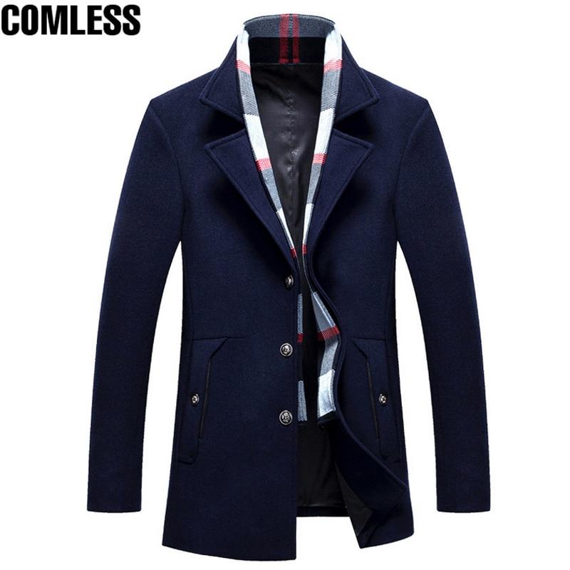 Новинка 2017 трендовая зимняя плотная мужская приталенная куртка с воротником