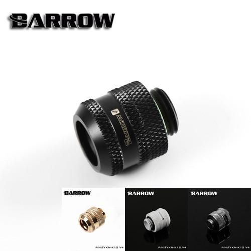 Barrow TYKN-K12 V4, OD12mm жесткие трубные фитинги, G1/4 адаптеры для OD12mm твердых труб