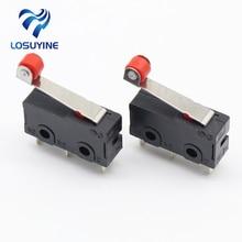 Mini Micro interrupteur de limite bras de levier   LOT de 10 pièces SPDT Action instantanée