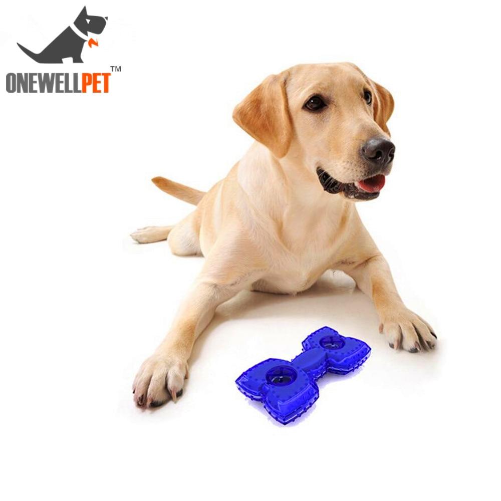 Brinquedos do Cão de Verão de Refrigeração de Borracha Resistente à Mordida Bola de Treinamento Filhote de Cachorro Congelado Paly Rosquinha Interativo Chew Toy Atacado Dumbell Forma