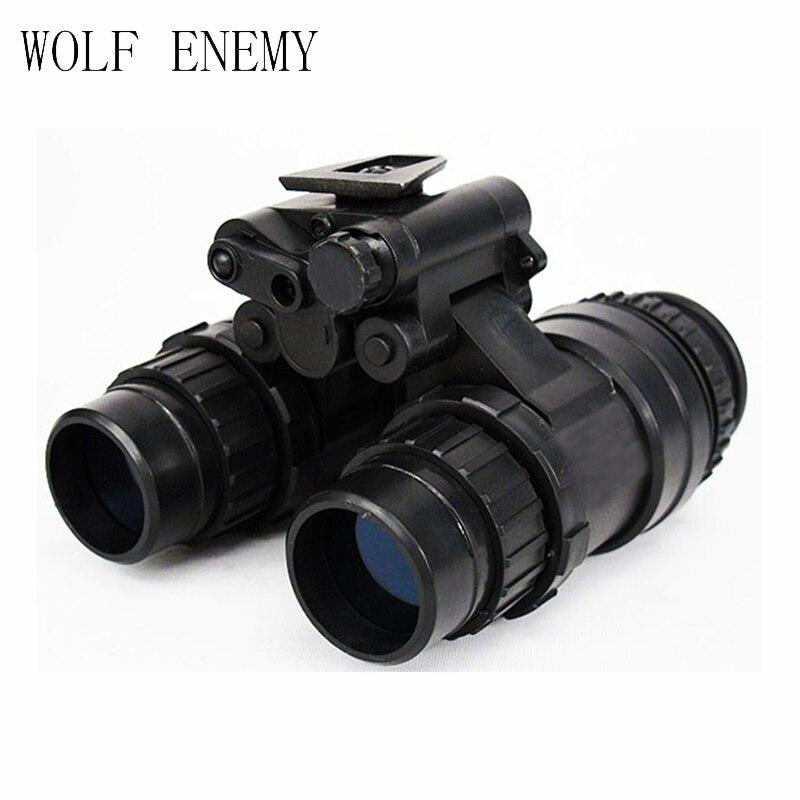 Ejército militar táctico, AN PVS-15 NVG Dummy, gafas de visión nocturna, negro