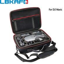 LBKAFA Professionelle Hardshell Schulter Wasserdichte Drone Tasche Handtasche Nylon Tragbare Fall Harte Box Für DJI Mavic Pro Platin