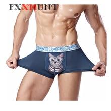 Boxer Cartoon Underwear Men Christmas Boxer Breathable Ethika Mens Underwear Funny Underpants Christmas Boxer Shorts Men