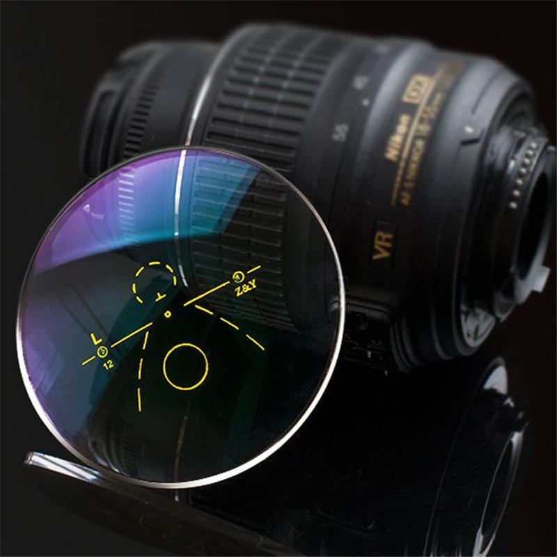 عدسات متعددة البؤر الخارجية ، 1.56 ، لقصر النظر ، مد البصر ، مضاد للانعكاس ، وصفة طبية ، مضادة للأشعة فوق البنفسجية