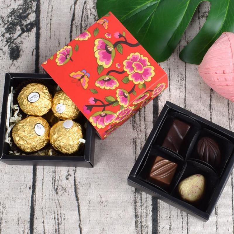 50 Uds Caja de dulces lindo embalaje Regalo Caja decoración nupcial Baby...