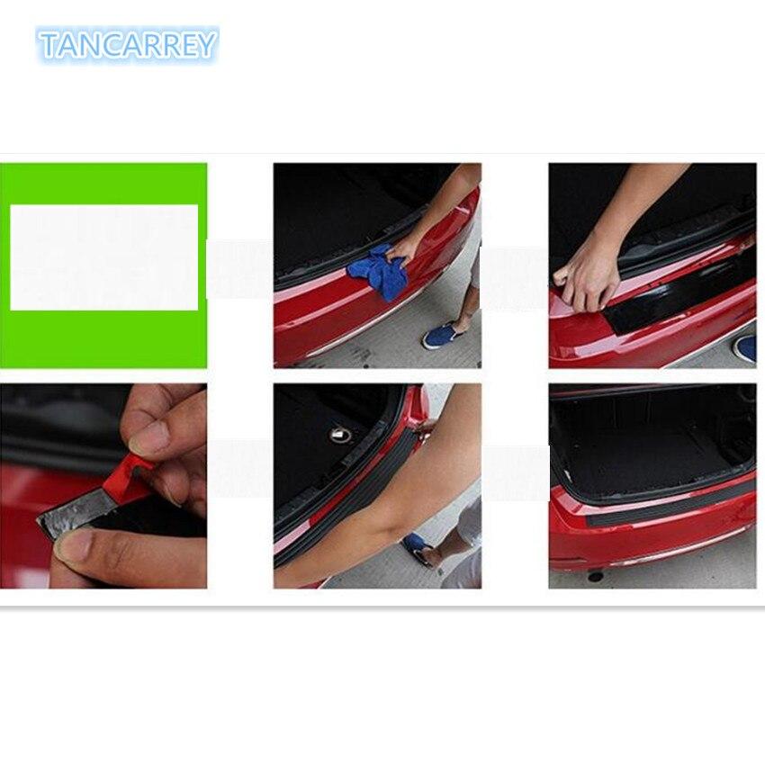 Protector de parachoques de maletero trasero para mitsubishi lancer 9 x trail nissan note bmw e60 volvo xc90 Accesorios
