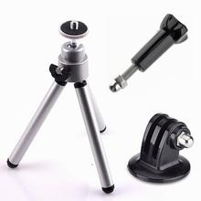 Kit Mini trépied ORBMART pour GoPro Hero 4 3 + 3 2 1 Xiaomi Yi SJCAM SJ4000 WIFI SJ5000 SJ6000 SJ7000 caméras daction sportive