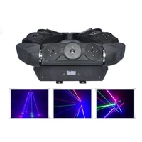 9 eyes 3 rgb moving head spider beam professional dmx stage laser light dj disco xmas party show ray scan effect lighting 109rgb