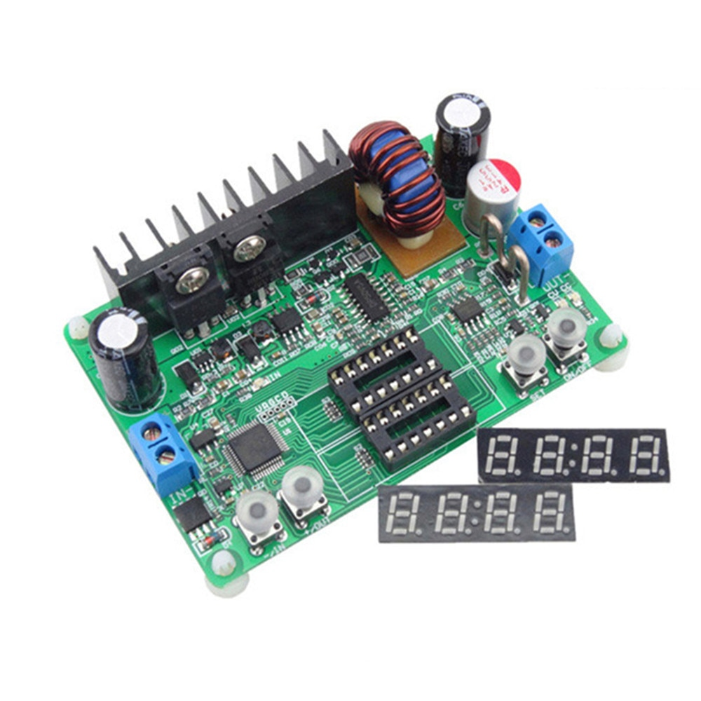 Módulo de visualización de tubo Digital extraíble DP30V5A-L fuente de alimentación programable módulo Buck convertidor de voltaje controlador de pantalla LED