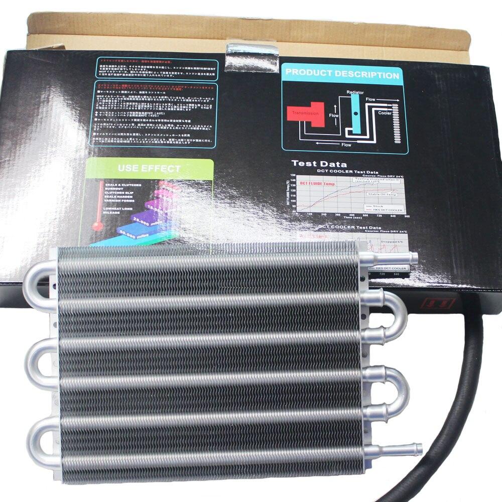 Nuevos artículos HK5 UNIVERSAL de aluminio de transmisión remota enfriador de aceite/AUTO-MANUAL radiador CONVERTERoil kit de enfriador de motor de coche
