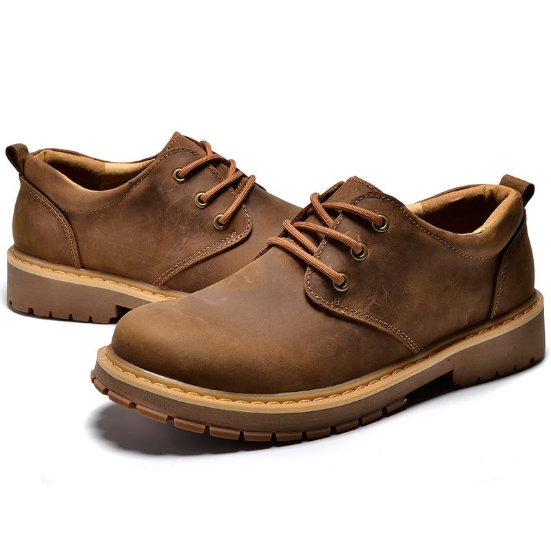 Zapatos de vestir casuales de madera de lujo para Hombre, Zapatos Oxford de cuero genuino, Zapatos para Hombre, Zapatos de exterior para Hombre, calzado de ocio Masculino