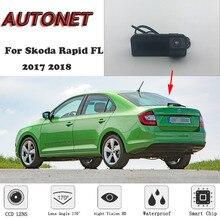 Autonet 후면보기 카메라 skoda rapid fl 2017 2018/원래 공장 스타일/원래 공장 트렁크 핸들 카메라 대신