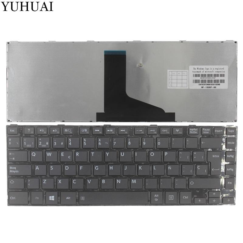 Teclado español para TOSHIBA SATELLITE L800 L800D L805 L830 L835 L840 L845 P840 P845 C800 C840 C845 M800 M805 SP negro