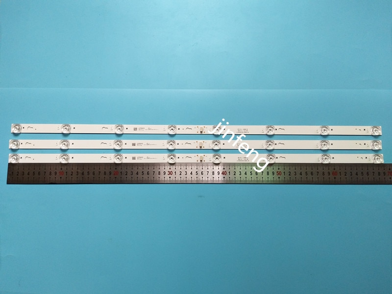 LED الخلفية قطاع 8 مصباح لتوشيبا 40d2900 L40F3301B 40A730U 40l2600 L40D2900F YHB-4C-LB4008-YH05J 40S305 40HR330M08A6