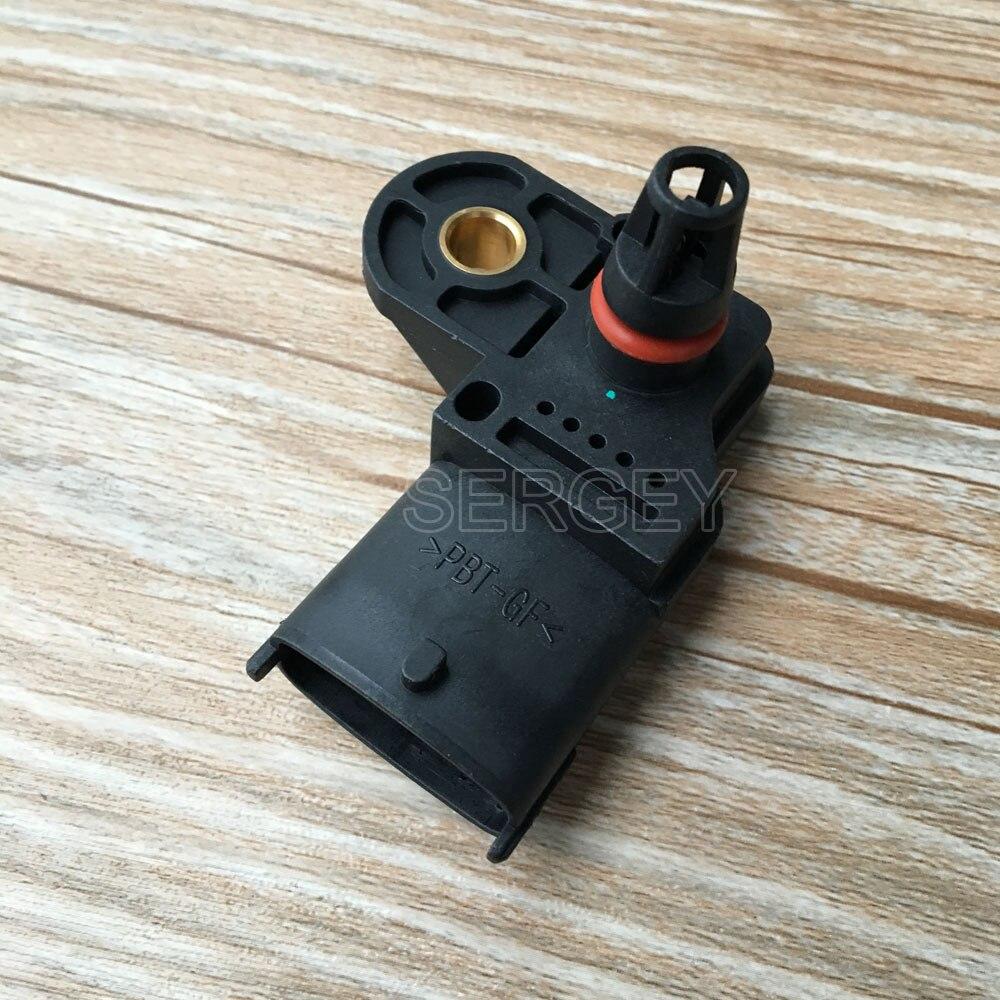 0281002680 sensor do mapa de pressão do impulso ar da entrada para o recolhimento do chassi do leito de ford ranger 2.5 3.0 tdci