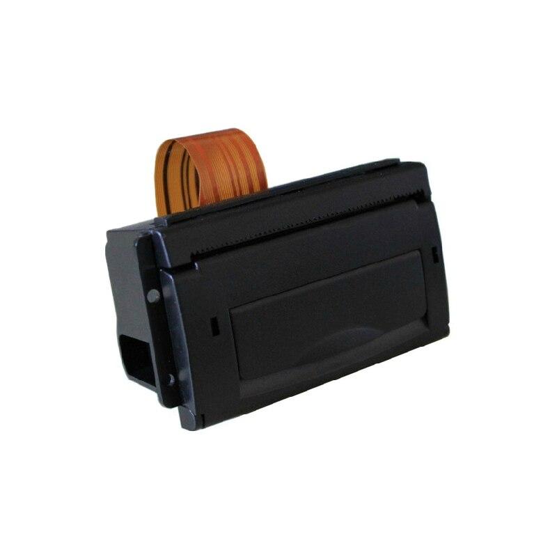 Impresora térmica de 2 pulgadas rs232 y Puerto usb pequeña integrada utilizada en taxi con soporte de vida de cabezal de impresión de 50km autoprueba