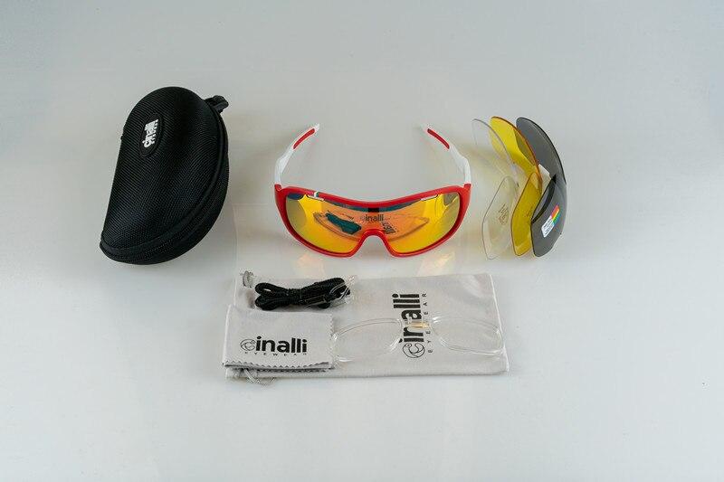 Naga sirena CINALLI C-068 gafas de ciclismo gafas de deporte al aire libre protección TR90 ciclismo sunglasse marco con lentes polarizadas