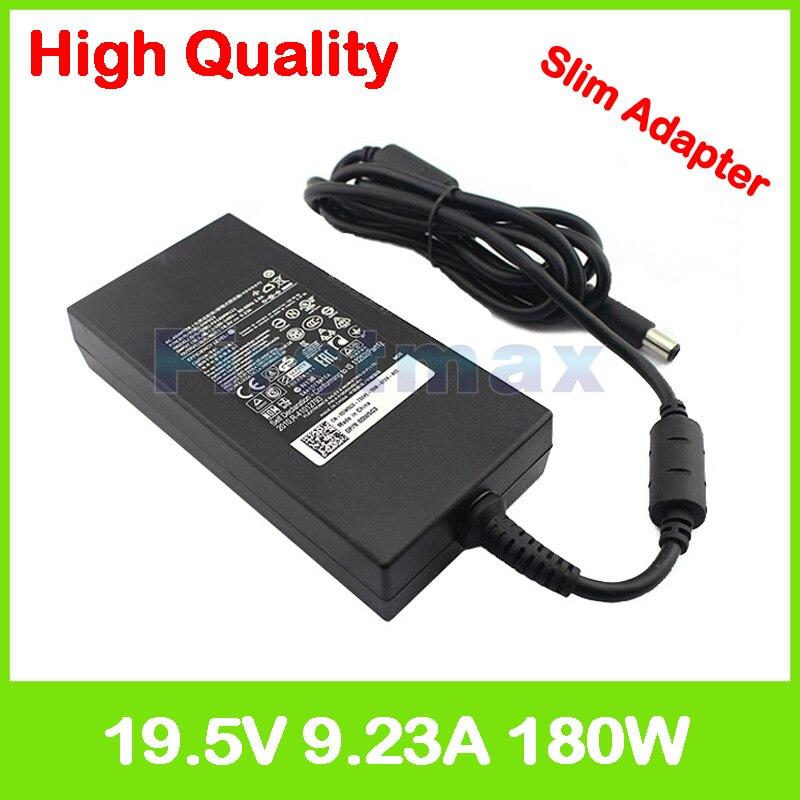 19,5 V 9.23A 180W адаптер зарядного устройства для ноутбука Dell Alienware 13 R3 14 R1 15 R2 R3 G3 15 3579 17 3779 P72F001 G5 15 5587 G7 15 7588