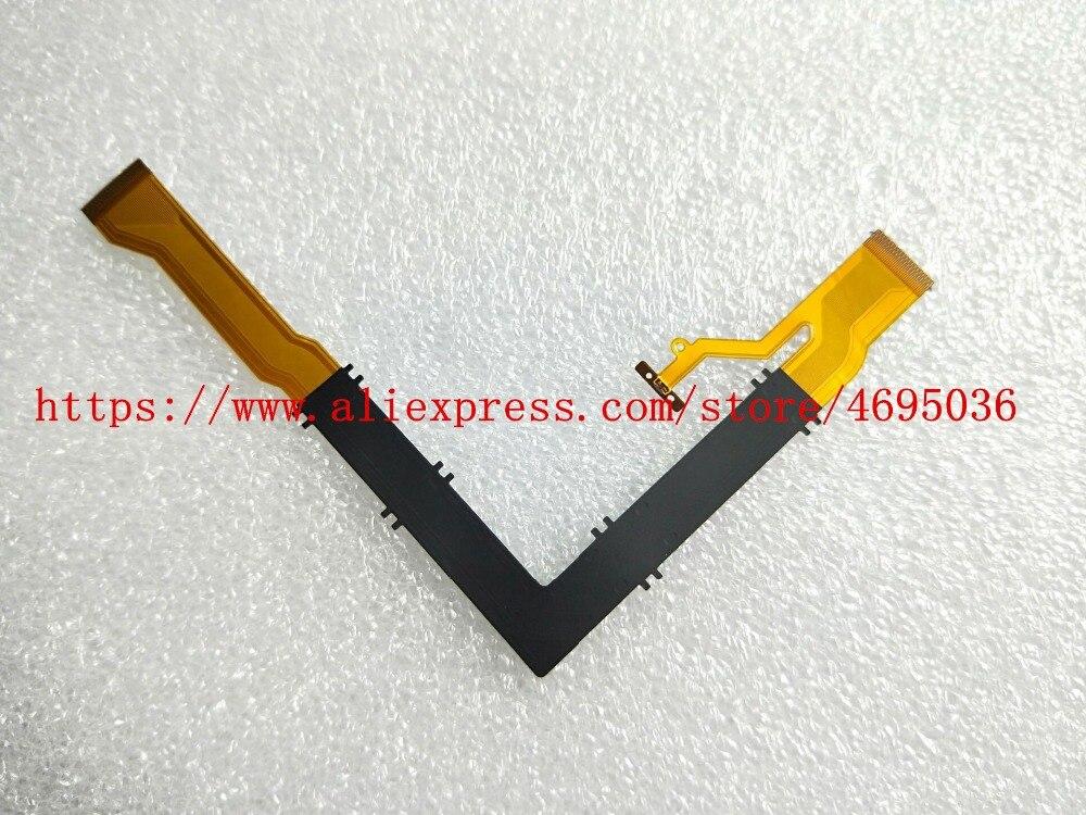 Nuevo cable flexible de LCD giratorio de eje para CASIO EX-ZR3500 EX-ZR2000 ZR2000 ZR3500 ZR3600 pieza de reparación para cámara digital (no con IC)