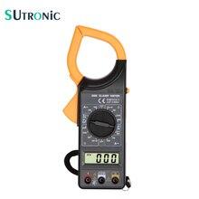 DT266 pince de courant numérique compteur Buzzer données maintien multimètre sans contact voltmètre de test ohmmètre ampèremètre ohmmètre Volt AC DC