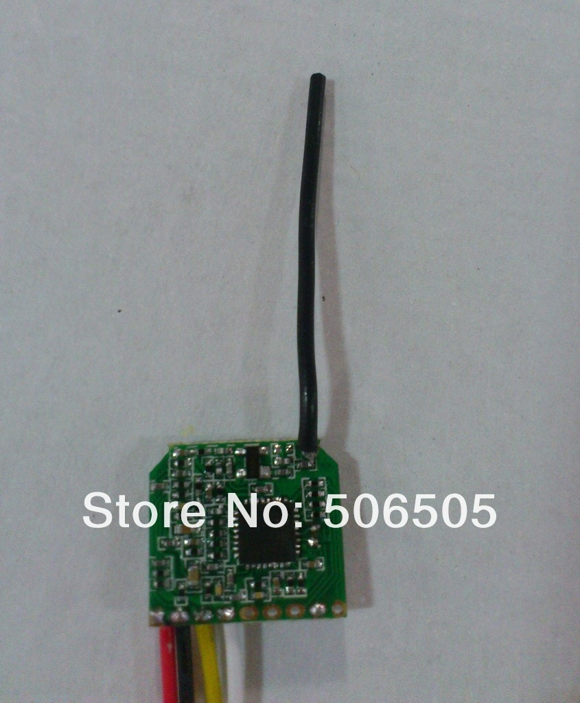 100mw 2.4Ghz audio and video wireless  transmitter with 8CH dip-switch enlarge